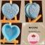 พิมพ์ยางซิลิโคน ลายหัวใจ หน้าลายนูนหัวใจ thumbnail 1