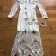 Paulene Sretsis Princess Embroidered Lace Long Dress thumbnail 7