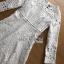ชุดเดรสเกาหลีพร้อมส่ง เดรสผ้าลูกไม้ฉลุสีขาวคลาสสิก thumbnail 8