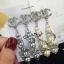 พร้อมส่ง Chanel Diamond Earring ต่างหูเพชร Swarovski thumbnail 1