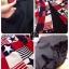 ( พร้อมส่ง) จั้มสูทกางเกงขาสั้นพิมพ์ลายดาว ดีเทลเนื้อผ้า Silk ผสม Cotton ในการตัดเย็บพิเศษอย่างดีเลยคะ ดีไซน์ของชุดออกแบบเป็นทรงเสื้อกล้ามแขนกุด เพิ่มดีกรีความน่ารักด้วยการตกเป็นผ้า 2 ชิ้น thumbnail 3