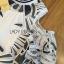 ชุดเดรสเกาหลี พร้อมส่งเดรสผ้าคอตตอนตกแต่งลูกไม้ทอลายกราฟิก thumbnail 12