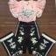 เสื้อผ้าเกาหลีพร้อมส่ง จั้มสูทขายาวสีชมพูน่ารักสดใส thumbnail 8