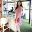 เสื้อผ้าเกาหลี พร้อมส่ง มินิเเดรสลุคสาวหวาน thumbnail 10