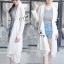 เสื้อผ้าเกาหลี พร้อมส่งเสื้อคลุมลูกไม้สุดหรูรุ่นนี้ด้วยเนื้องานผ้าลูกไม้อย่างดี thumbnail 3