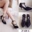 งานเก๋เว่อร์สไตล์ Zara รองเท้าส้นเข็มหัวแหลมสไตล์ซาร่า thumbnail 5