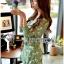 เสื้อผ้าเกาหลี พร้อมส่งเพลย์สูทสีเขียวมิ้นท์พิมพ์ลายดอกเดซี่สไตล์เฟมินีน thumbnail 6