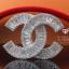 พร้อมส่ง Chanel Brooch งานเพชร CZ แท้ เกรด 6A thumbnail 4