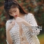 Gabby Flower Lace Pearl Embroidered Jacket thumbnail 6