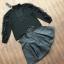 เสื้อผ้าแฟชั่นพร้อมส่ง เซ็ตเสื่อแขนยาวสีดำ thumbnail 4