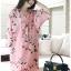 Soda Pretty Pink Floral Dress thumbnail 1
