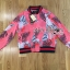 Gucci Pink Floral Printed Sporty Bomber Jacket thumbnail 5