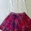 ( พร้อมส่ง) ชุดเซ็ทเสื้อกับกระโปรงแบรนด์ zara เสื้อคอปกเชิ๊ตทรงแขนกุด เนื้อผ้าcotton ดีเทลตีเกล็ดเสื้อเนี๊ยบเป็นระเบียบประณีตสวย กระโปรงผ้า silk polyester ผ้าพิมพ์ลายเพ้นท์สี ทรงA จีบระบายรอบตัว มีซับในนะคะ thumbnail 8