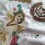 เสื้อผ้าเกาหลี พร้อมส่งเชิ้ตเดรสสีขาวปักลายครอสติส thumbnail 12