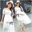 Emilia Bohemian Off-Shoulder Embroidered Cotton Lace Maxi Dress thumbnail 3