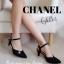 Neww!! แบบใหม่ไฮโซ ส้นสูงกลิตเตอร์สไตล์ Chanel งานหรูเริ่ดดด thumbnail 5