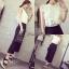 เสื้อผ้าเกาหลี พร้อมส่งเซ็ทเสื้อ+กางเกง เสื้อผ้า cotton thumbnail 6