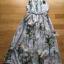 Miranda Natural Beauty Roses Printed Satin Midi Dress thumbnail 5
