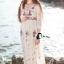 Emroidered Beach Luxury Long Dress thumbnail 4