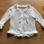 Eve White Lace with Ruffle Strip Top thumbnail 7