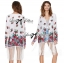 Ria Hippy Floral Printed Fringe Outerwear thumbnail 9