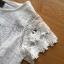 เสื้อผ้าเกาหลี พร้อมส่งเสื้อผ้าลูกไม้สีขาวสไตล์คลาสสิกวินเทจ thumbnail 8