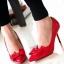 รองเท้า PRADA Style คัทชูส้นสูงหัวแหลม ด้านหน้าเล่นดีไซน์ V curve แบบเก๋สุดๆ แต่งโบว์ เพิ่มความน่ารักอีกระดับ วัสดุหนังอย่างนิ่ม สีสวยน่ารักดูดี คู่นี้ใส่สบายเท้า ส้นเรียวไม่สูงมาก ใส่ไม่เมื่อยจร้าาา พื้นนิ่มอย่างดีค่ะ thumbnail 10
