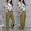เสื้อผ้าเกาหลี พร้อมส่งGreen Garden Luxury Set thumbnail 3