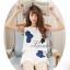 เสื้อผ้าเกาหลี พร้อมส่งเซตเสื้อแขนกุดมาพร้อมกางเกงขาสั้น thumbnail 2