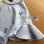 เสื้อผ้าเกาหลี พร้อมส่งเซ็ตเสื้อคอตตอนผสมลินินปักดอกไม้สีม่วงผูกโบและกางเกงผ้าลูกไม้สีม่วงไลแล็ก thumbnail 14