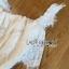 เสื้อผ้าเกาหลี พร้อมส่งจัมป์สูทผ้าลูกไม้สีขาวสไตล์แคชชวล thumbnail 8