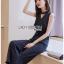 เสื้อผ้าเกาหลีพร้อมส่ง จัมป์สูทผ้าเครปลายทางสไตล์สมาร์ทแคชชวล thumbnail 5