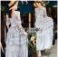 Diana Country Rich Girl Ruffle Layered Flower Dress thumbnail 2