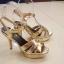 รองเท้าส้นสูงสุดฮอตสไตล์ YSL( thumbnail 6