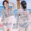 Naomi Beach Summer Style White Crochet Dress thumbnail 2