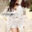 Veronica Classy Elegant Lace Outerwear thumbnail 1