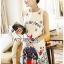 Anne Dreamy Fantasy Printed Dress thumbnail 4