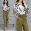 เสื้อผ้าเกาหลี พร้อมส่งGreen Garden Luxury Set thumbnail 5