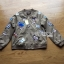 Sally Sporty Butterfly Embroidered Nylon Bomber Jacket thumbnail 7