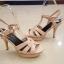 รองเท้าส้นสูงสุดฮอตสไตล์ YSL( thumbnail 8
