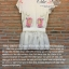 เสื้อผ้าเกาหลี พร้อมส่ง เสื้อคอกลมปักลวดลาย นกสองตัวงานปักแน่นสวย thumbnail 9