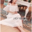 Lisa Royal Pure White Cotton Lace Layered Dress thumbnail 2
