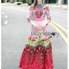 Ella Fancy Colourful Embellished and Printed Crepe Long Dress thumbnail 2