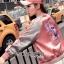 เสื้อผ้าเกาหลี พร้อมส่งบอมเบอร์แจ๊กเก็ตปักลายนกสีชมพูสไตล์สปอร์ต thumbnail 5
