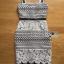 ชุดเดรสเกาหลี พร้อมส่งเดรสผ้าลูกไม้ขาวฉลุบนพื้นผ้าสีดำตั thumbnail 15