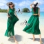 Elegant Sleeveless Bohemian Style Open Back Maxi Dress thumbnail 5