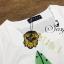 เสื้อผ้าเกาหลี พร้อมส่ง Set เสื้อกระโปรงลายชายทะเลโทนสีพาสเทล กระโปรงทรงเอพิมพ์ลายใบไม้สีสันแสนหวาน thumbnail 7