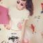 เสื้อผ้าเกาหลี พร้อมส่ง เสื้อคอกลมปักลวดลาย นกสองตัวงานปักแน่นสวย thumbnail 3