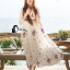 Emroidered Beach Luxury Long Dress thumbnail 5