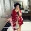 เสื้อผ้าเกาหลี พร้อมส่งผ้าคลุมไหล่แบรนด์ CHANEL เนื้อผ้าสวยมาก thumbnail 3